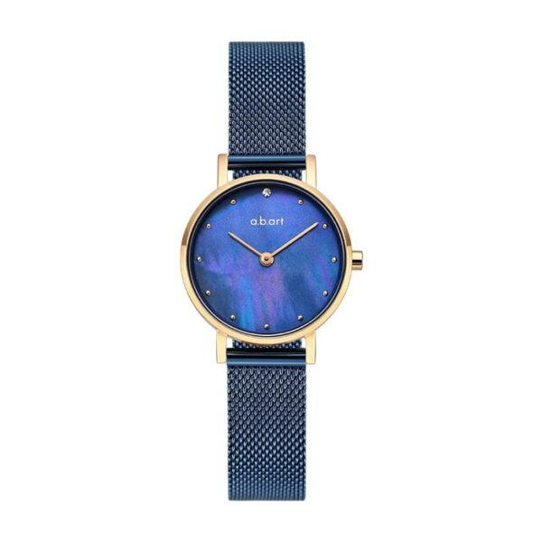 montre femme bracelet acier a.b.art FQ26-016-5S