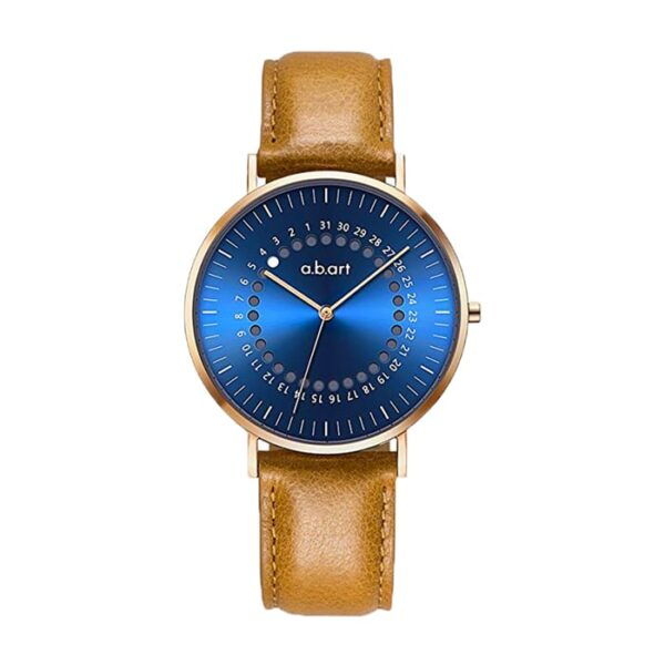 Montre femme bracelet cuir a.b.art FD36-012-3L