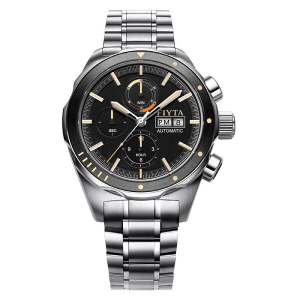montre chronographe automatique Fiyta Aeronautics GA880018.WBW