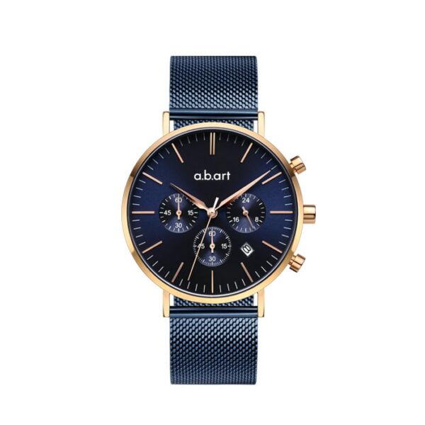 montre chronographe homme a.b.art FT41-012-5S