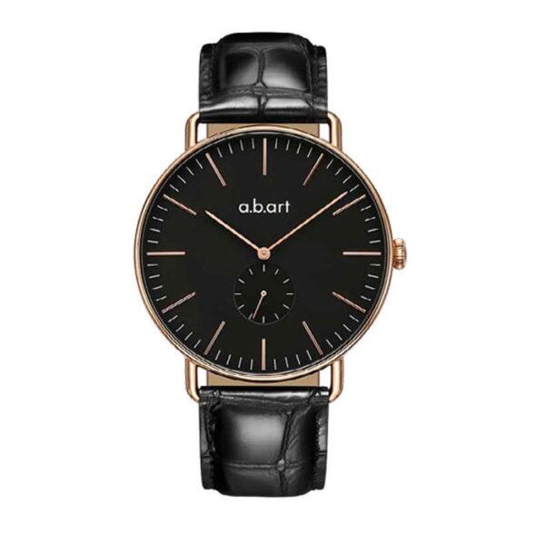 montre homme bracelet cuir a.b.art FR41-015-15L