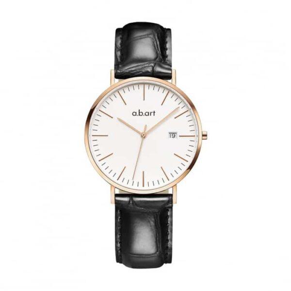 montre femme bracelet cuir a.b.art FB36-000-15L