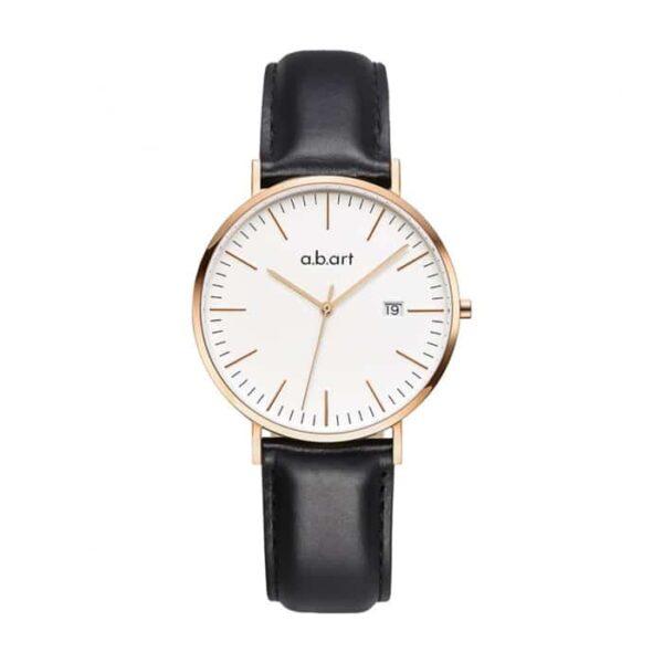 montre femme bracelet cuir a.b.art FB36-000-1L