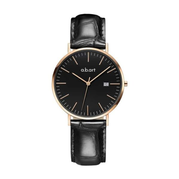 montre femme bracelet cuir a.b.art FB36-015-15L