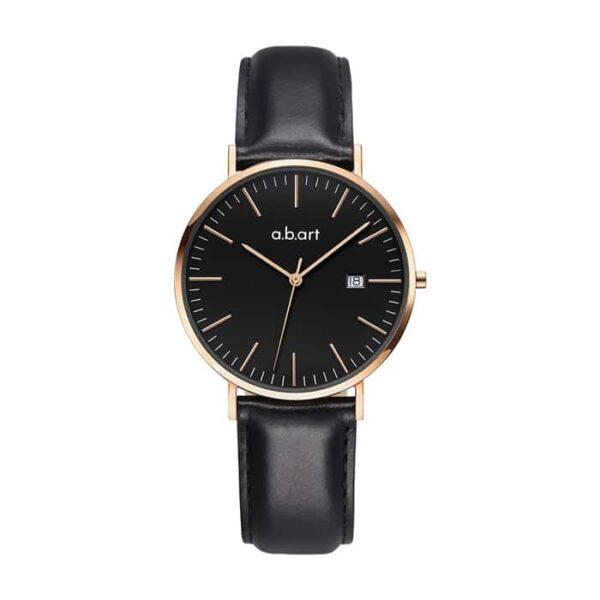 montre femme bracelet cuir a.b.art FB36-015-1L