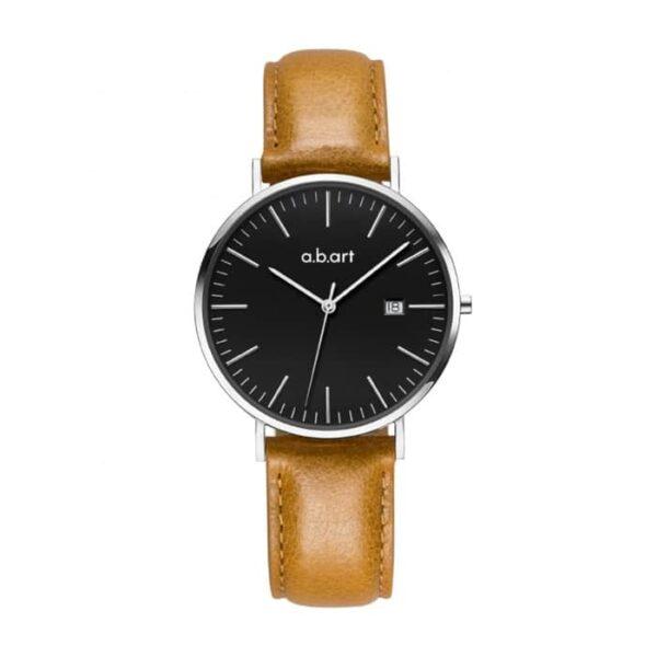 montre femme bracelet cuir a.b.art FB36-135-3L
