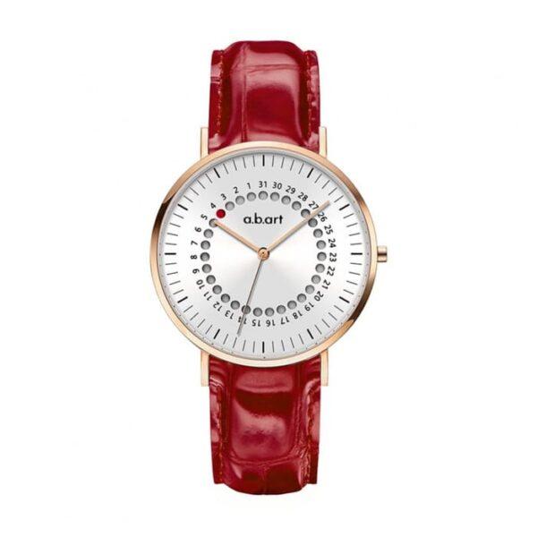 Montre femme bracelet cuir a.b.art FD36-000-14L
