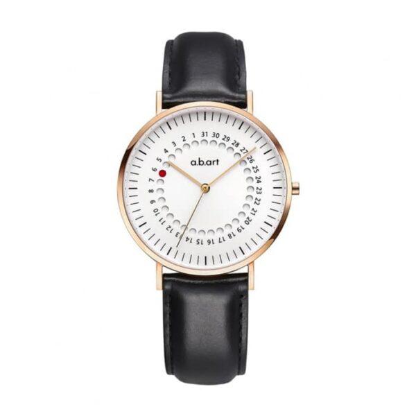 Montre femme bracelet cuir a.b.art FD36-000-1L