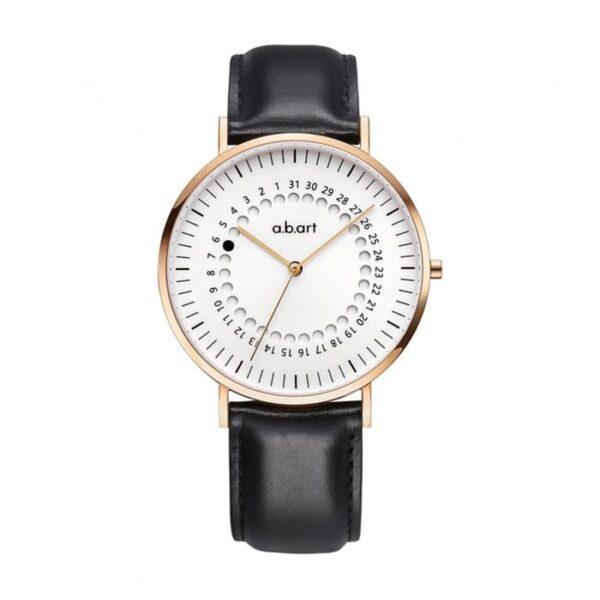 montre homme bracelet cuir a.b.art FD41-000-1L
