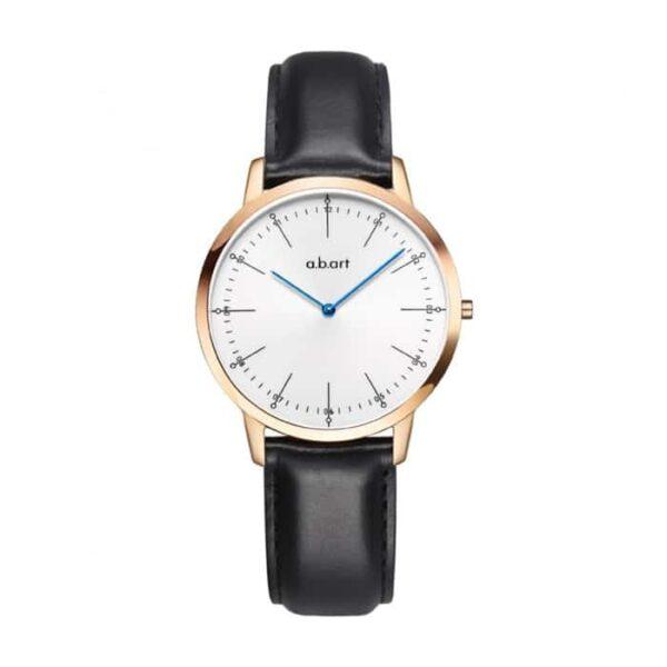 montre femme bracelet cuir a.b.art FL36-001-1L