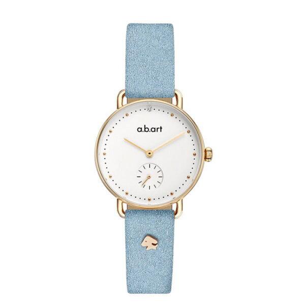 montre femme bracelet cuir a.b.art FR31-000-053L