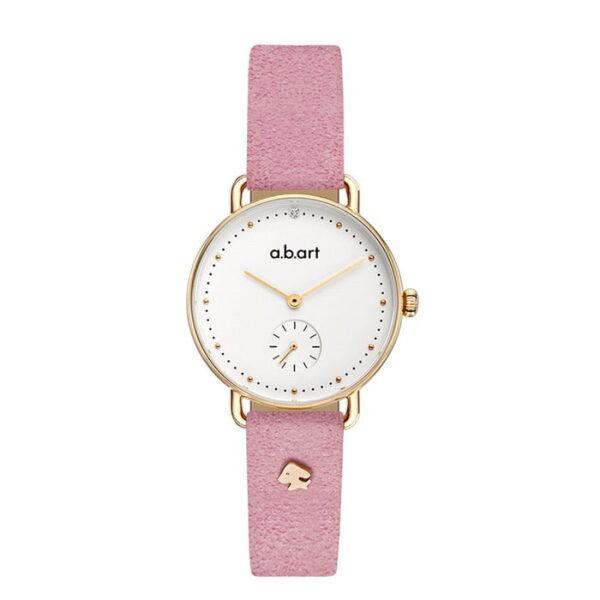 montre femme bracelet cuir a.b.art FR31-000-055L
