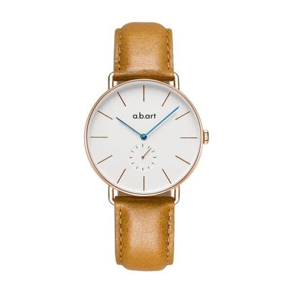 montre femme bracelet cuir a.b.art FR36-001-3L