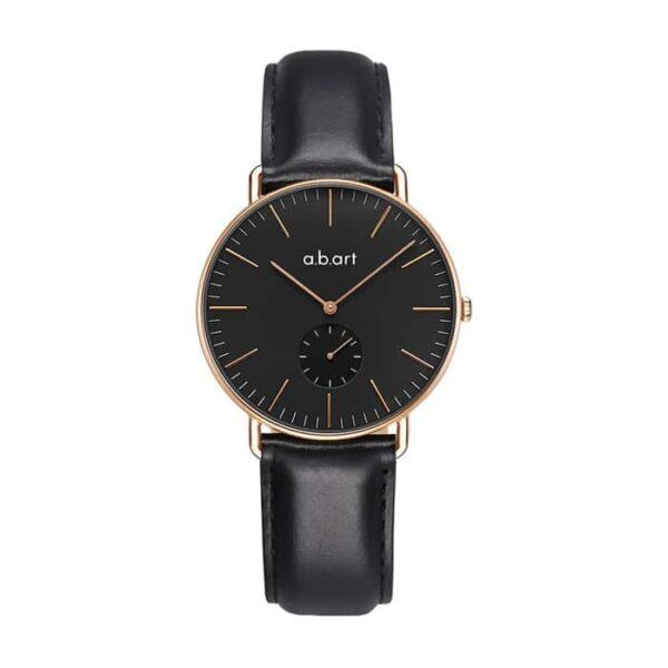 montre femme bracelet cuir a.b.art FR36-015-1L