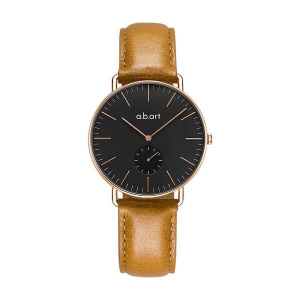 Montre femme bracelet cuir a.b.art FR36-015-3L