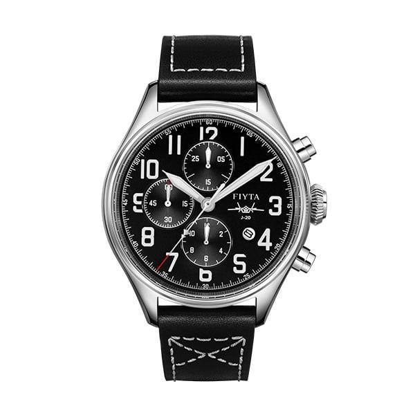 montre chronographe automatique Fiyta Mach J-20 GA881000.WBB