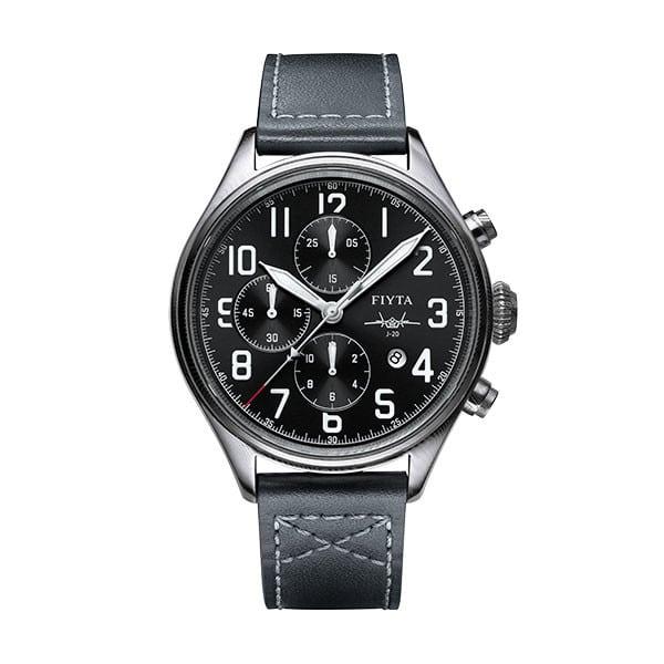 montre chronographe automatique Fiyta Mach J-20 GA881001.WBB