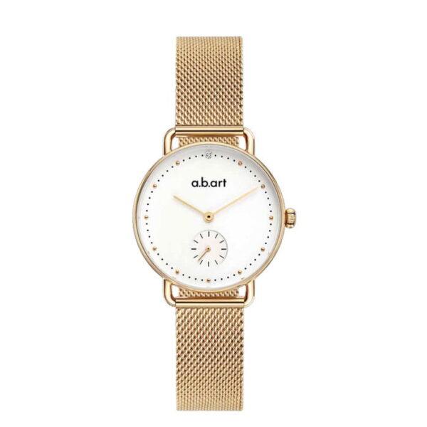 montre femme bracelet acier a.b.art FR31-000-7S