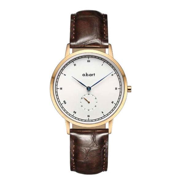 montre femme bracelet cuir a.b.art FG36-001-4L