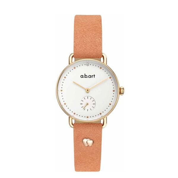 montre femme bracelet cuir a.b.art FR31-000-054L