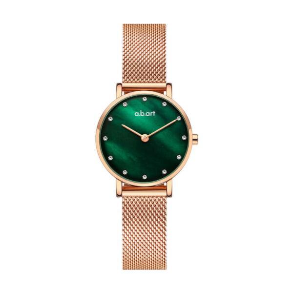 montre femme bracelet acier a.b.art FQ26-019-7S