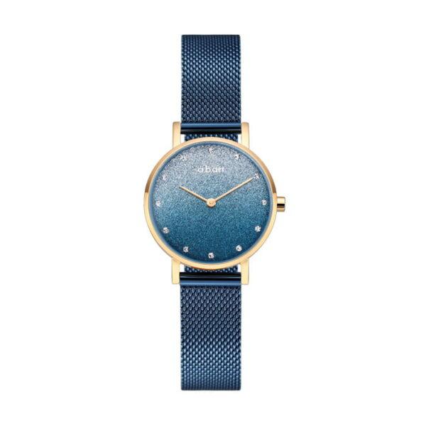 montre femme bracelet acier a.b.art FQ26-007-5S