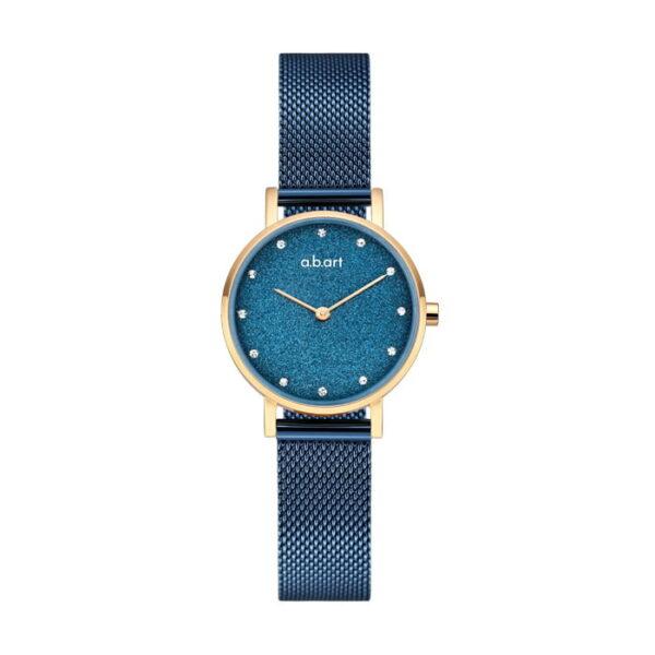 montre femme bracelet acier a.b.art FQ26-009-5S