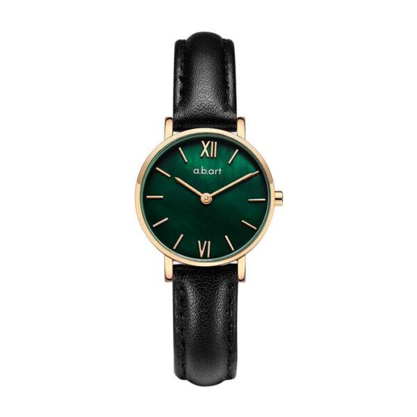 montre femme bracelet cuir a.b.art FQ26-019-1L