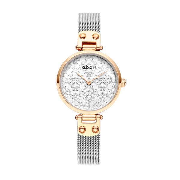 montre femme bracelet acier a.b.art GF28-021-6S