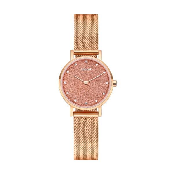 montre femme bracelet acier a.b.art FQ26-010-7S