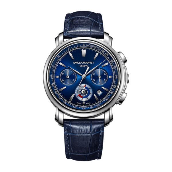 Montre chronographe automatique hommeEmile Chouriet Lac Léman 16.1168.G42.6.8.98.2