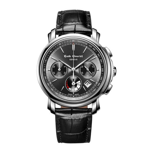 Montre chronographe automatique hommeEmile Chouriet Lac Léman 16.1168.G42.6.8.68.2