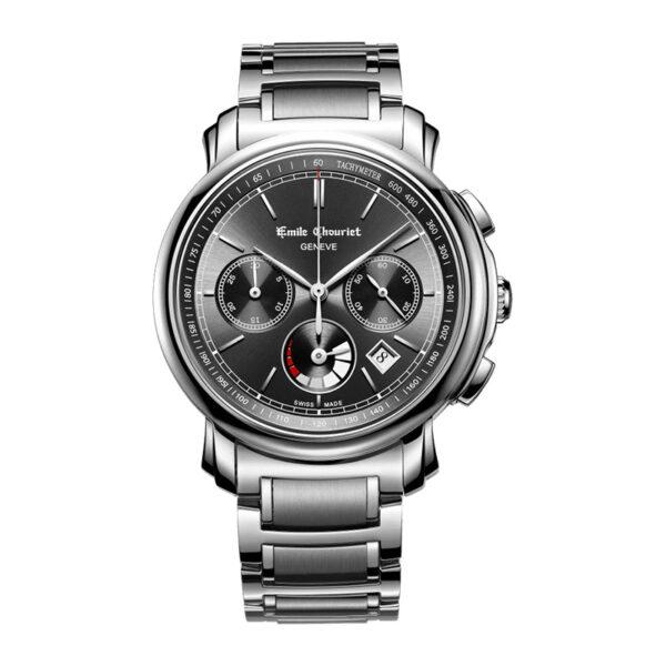 Montre chronographe automatique hommeEmile Chouriet Lac Léman 16.1168.G42.6.8.68.6