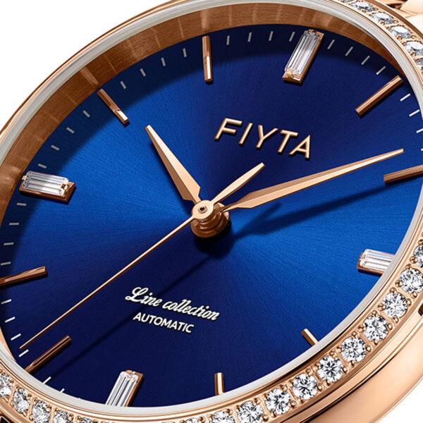 montre automatique femme Fiyta Line LA801008.PLPD