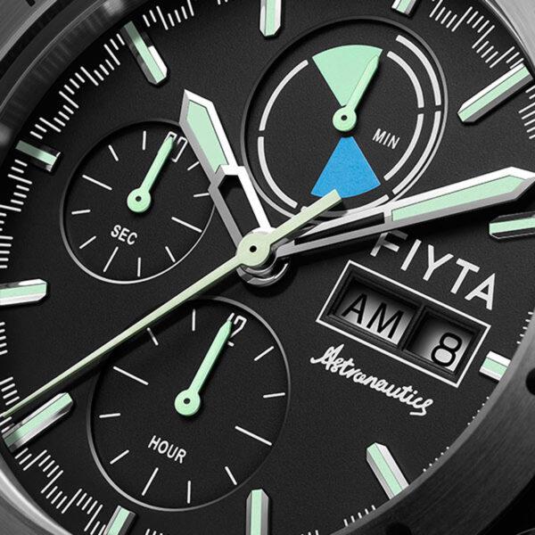 montre chronographe automatique Fiyta Aeronautics GA880012.WBW